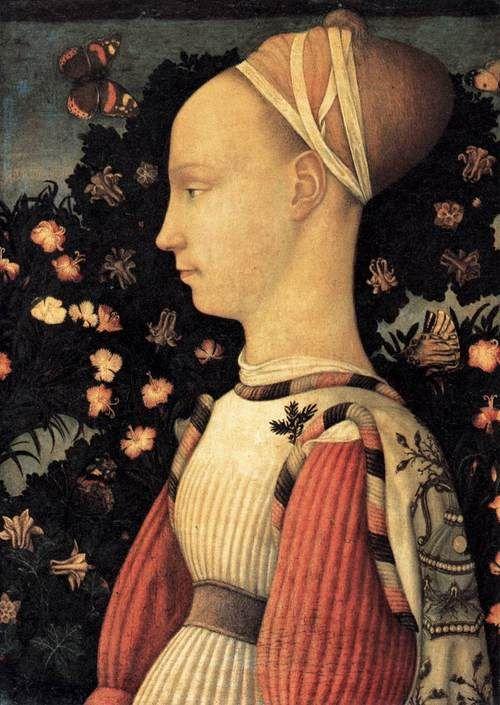 Pisanello, Portrait Of A Princess Of The House Of Este, 1436 38,