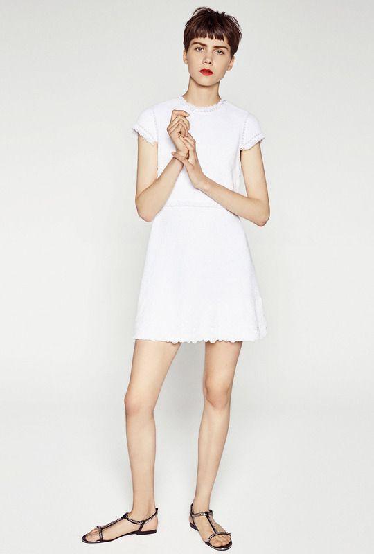 Una Línea NoviasOutfit De Tiene Zara VestidosY Vestidos Tlc3F1KJ