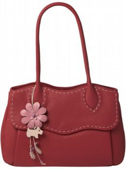 raspberry radley bag