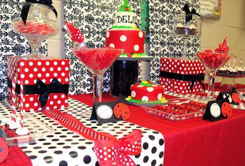 Ladybug Birthday Party Ideas Ladybug Black ladybug and Birthday