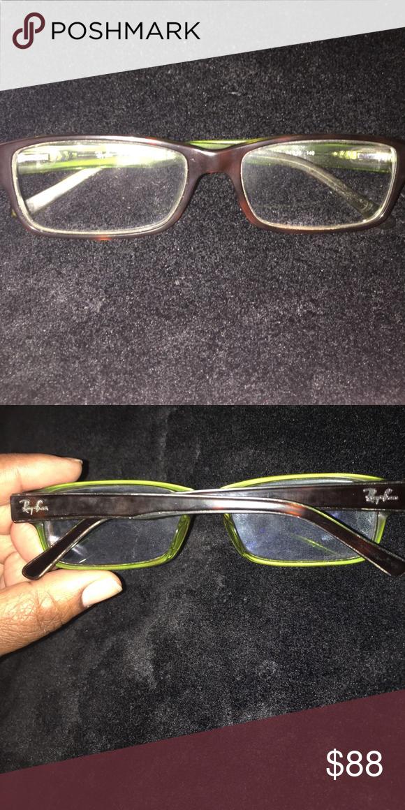 c263deef0fc Ray-Ban Eyeglass frames only Dark Brown and Green eyeglass frames Ray-Ban  Other
