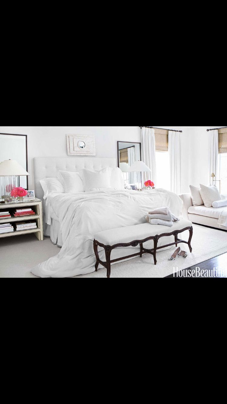 Like the look of a big white comforter, all white, hotel