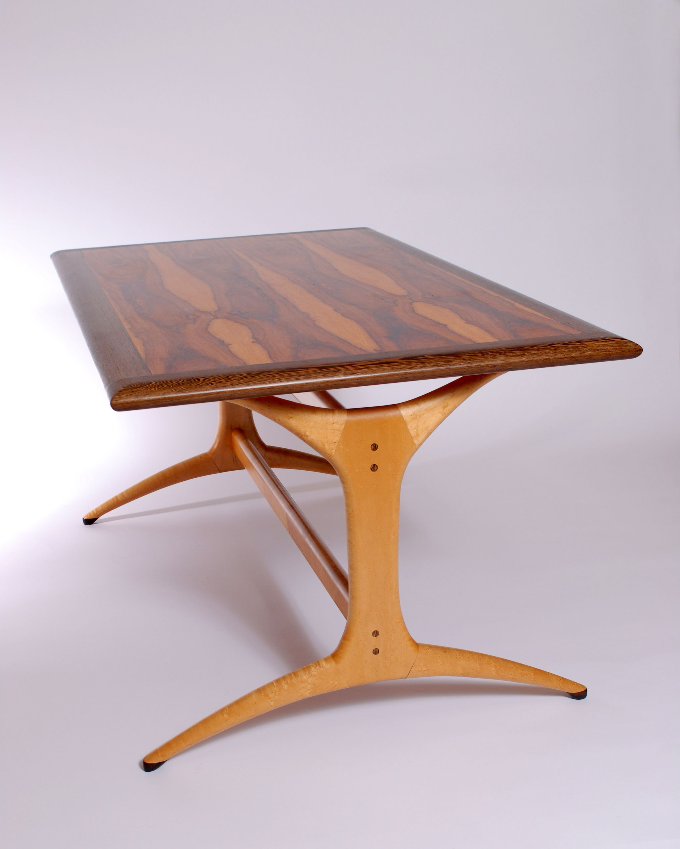 Dining Room Table Rosewood Wenge Tiger Stripe Maple Birds Eye