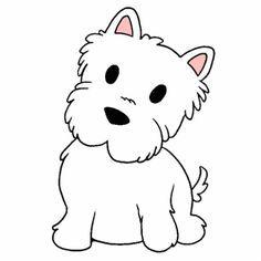Kawaii Dibujos De Perros Para Pintar Perritos Tiernos Para Pintar Buscar Con Google Dibujo De Perro