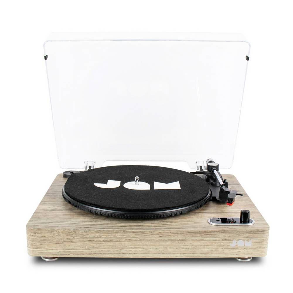 Buy Jam Vinyl Bluetooth Record Player Light Wood Record Players And Turntables Bluetooth Record Player Record Player Vinyl