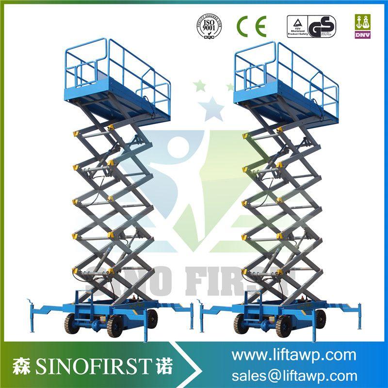 SINOFIRST Good Quality Mobile scissor lift extending work