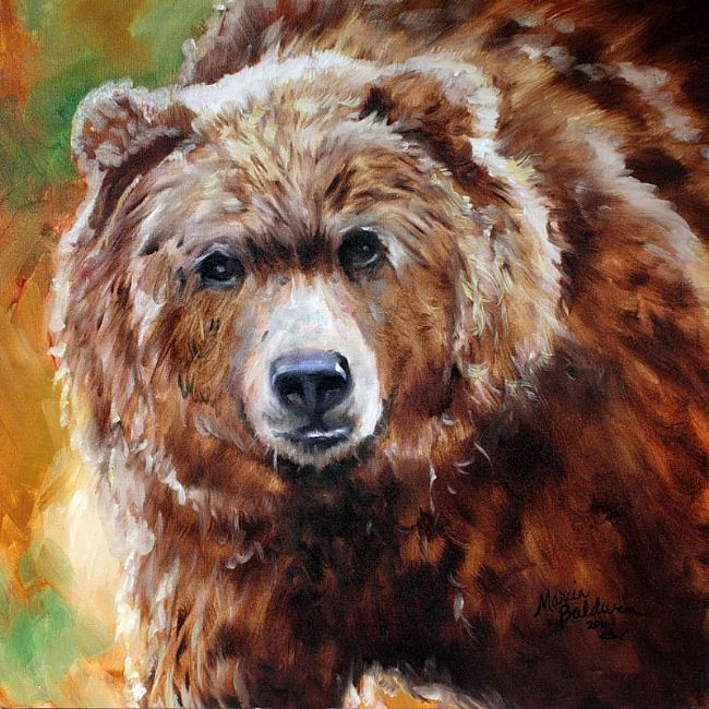 медведь масло картинки простой вариант