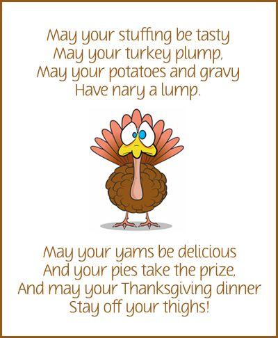 Thanksgiving Dinner Poem Lol Quotes Gobble Gobble