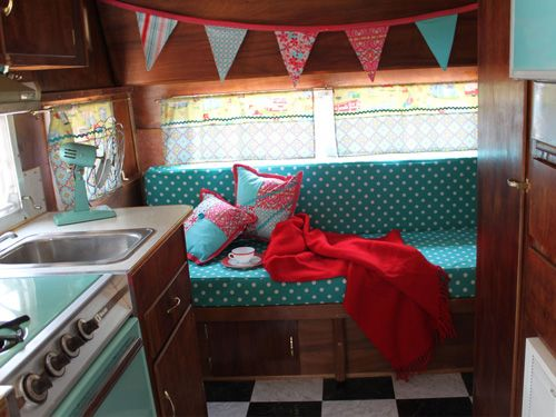 Camper Interior Decorating Ideas Unique Rv Country Living
