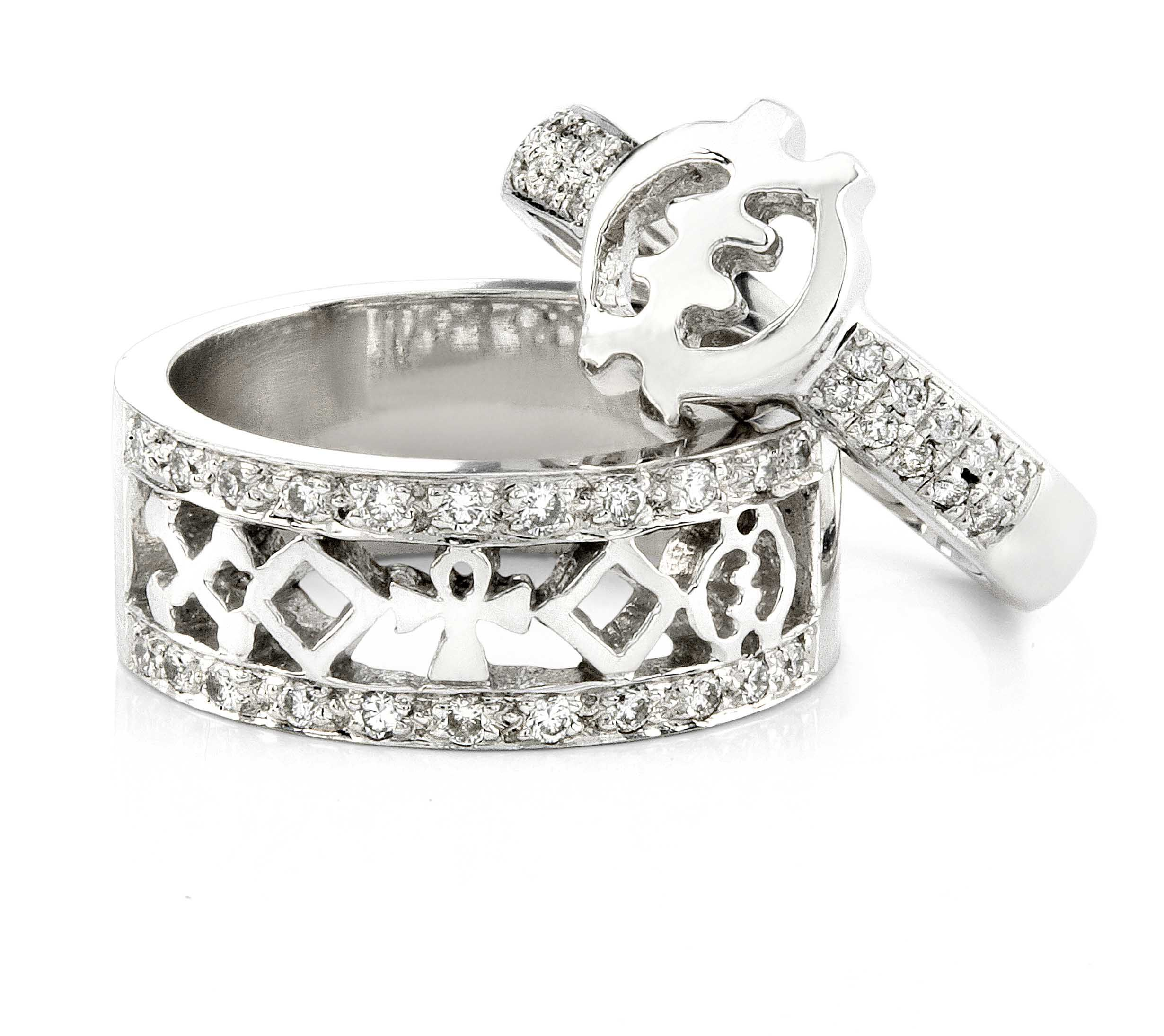 Look At How Beautifully We Can Match Our African Engagement Ring Collection Choose Your Own