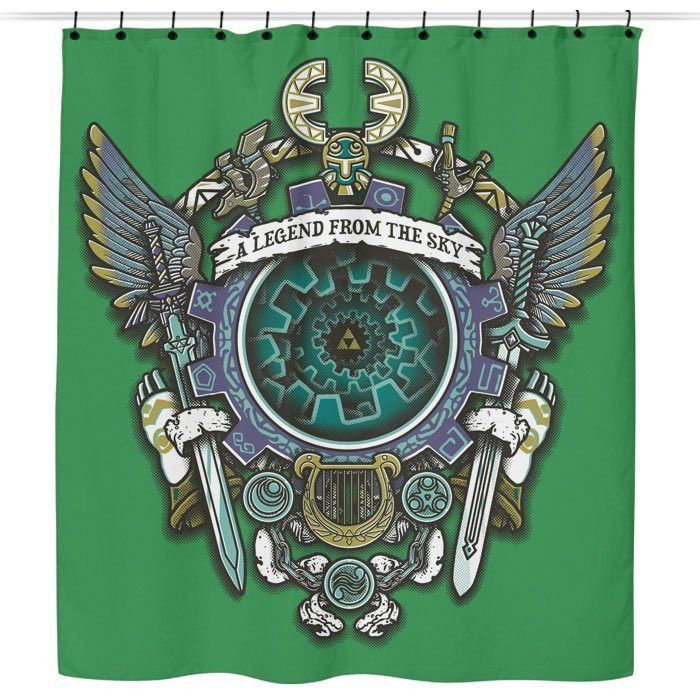 A Legend From The Sky Shower Curtain