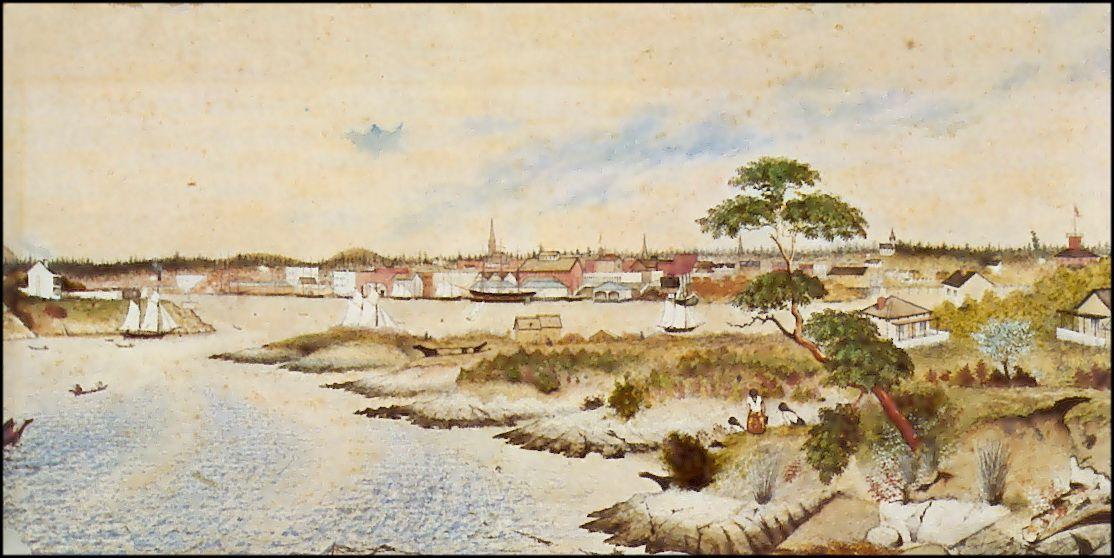 Edward M. Richardson, active 1863-64, Victoria (Fort Victoria)