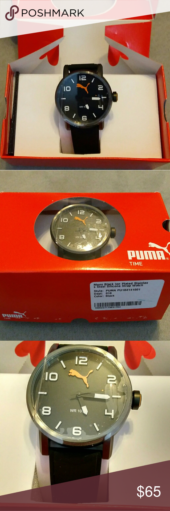 8cda1904c06f Men s Puma Watch Brand new men s Puma watch. Great gift idea! Includes  original box as photographed. Brand new. Bubbles shown on watch face in  photo are ...