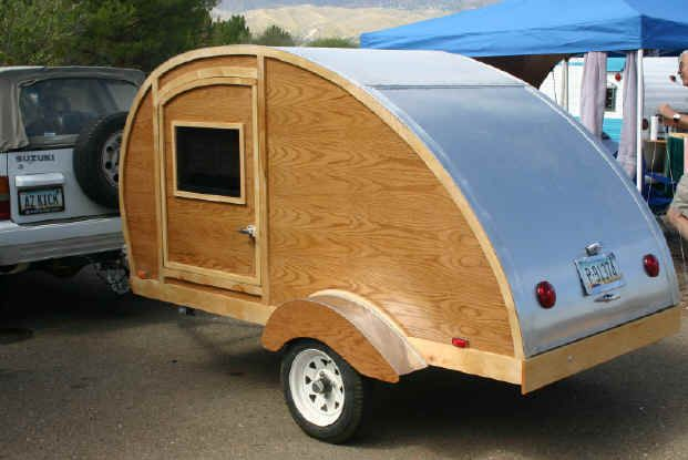 Teardrop Trailers with Harbor Freight Utility Trailers | Teardrop