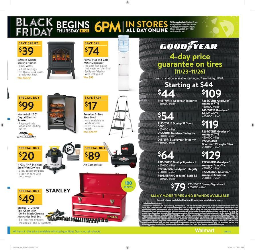 Walmart Black Friday Ad for 2017 (With images) | Walmart ...