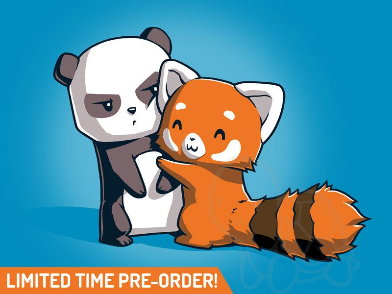 Ahghghh Cartoon Panda Panda Hug Cute Animal Drawings