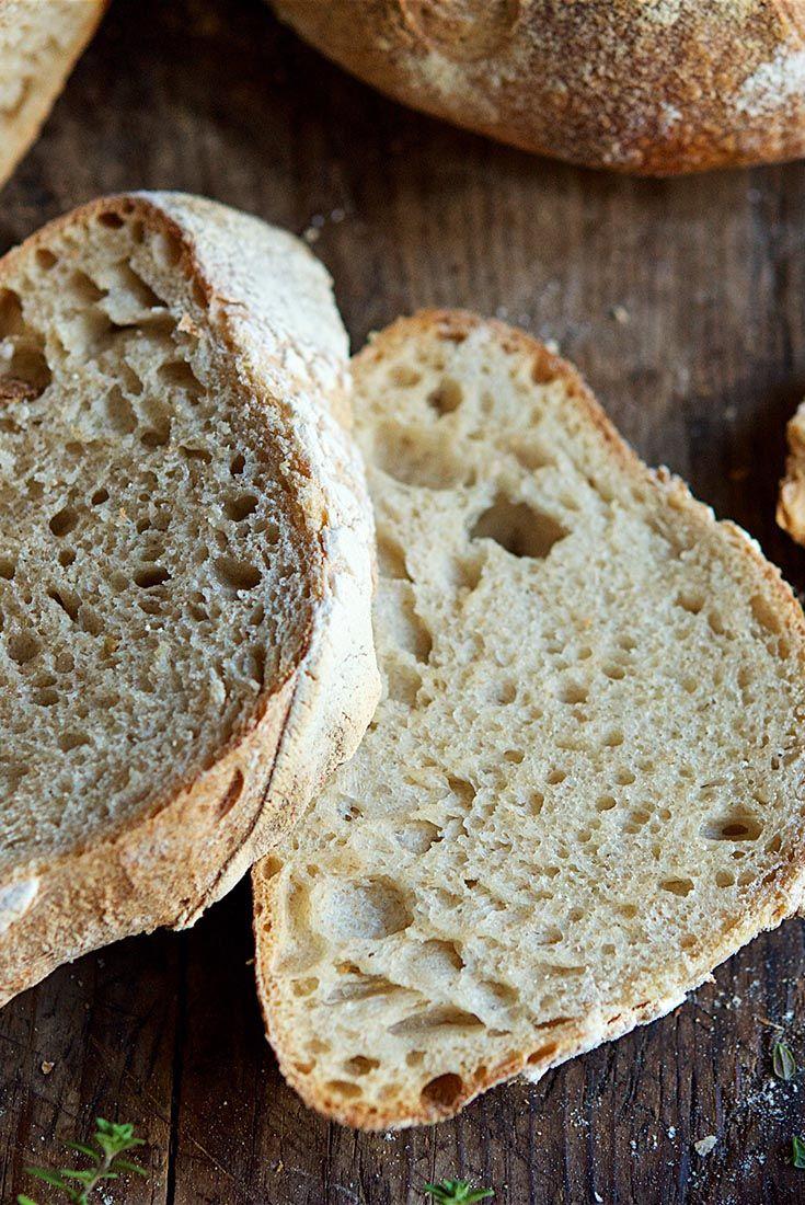 Naturally Leavened Sourdough Bread   Recipe   Sourdough ...
