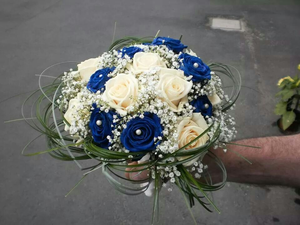 Bouquet Blu Sposa.Cristina Spinolo Cspinolo On Pinterest