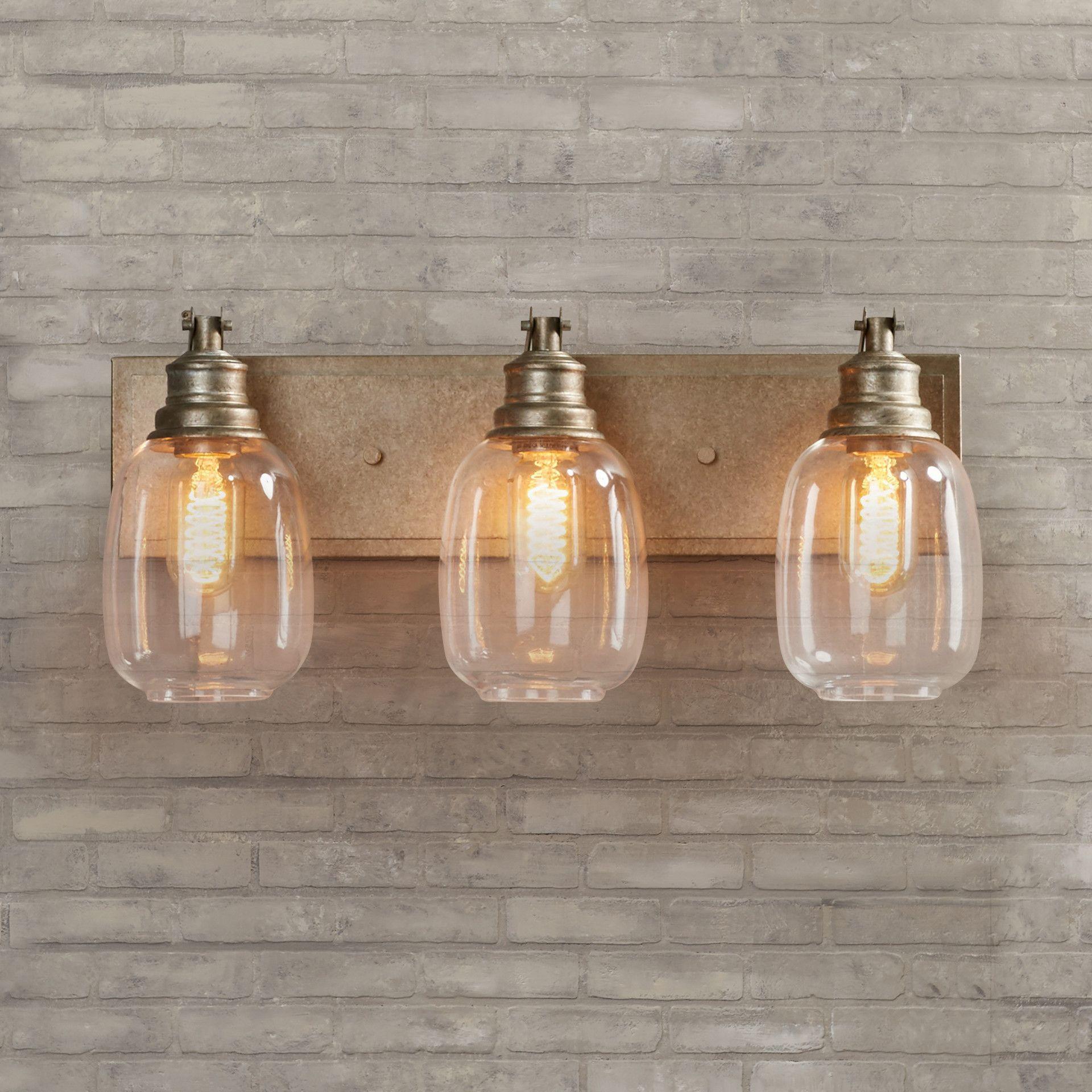 Trent Austin Design Marvin 3 Light Bath Vanity Light & Reviews