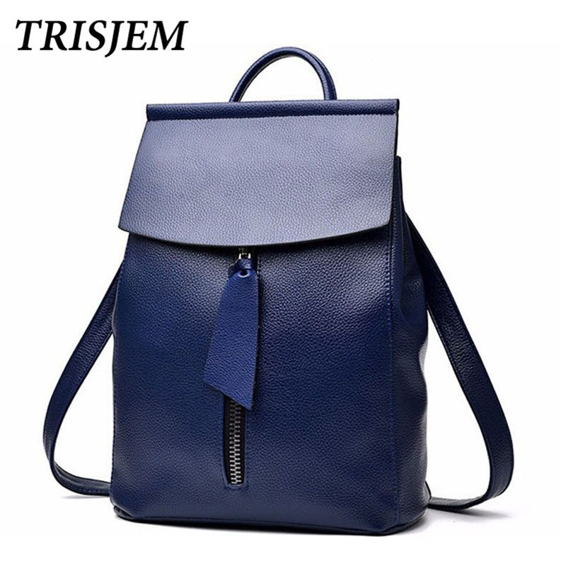 594ea20a1c backpacks for teenage girls teen school bags fashion women pu leather back  pack blue sac a dos femme mochila escolar feminina