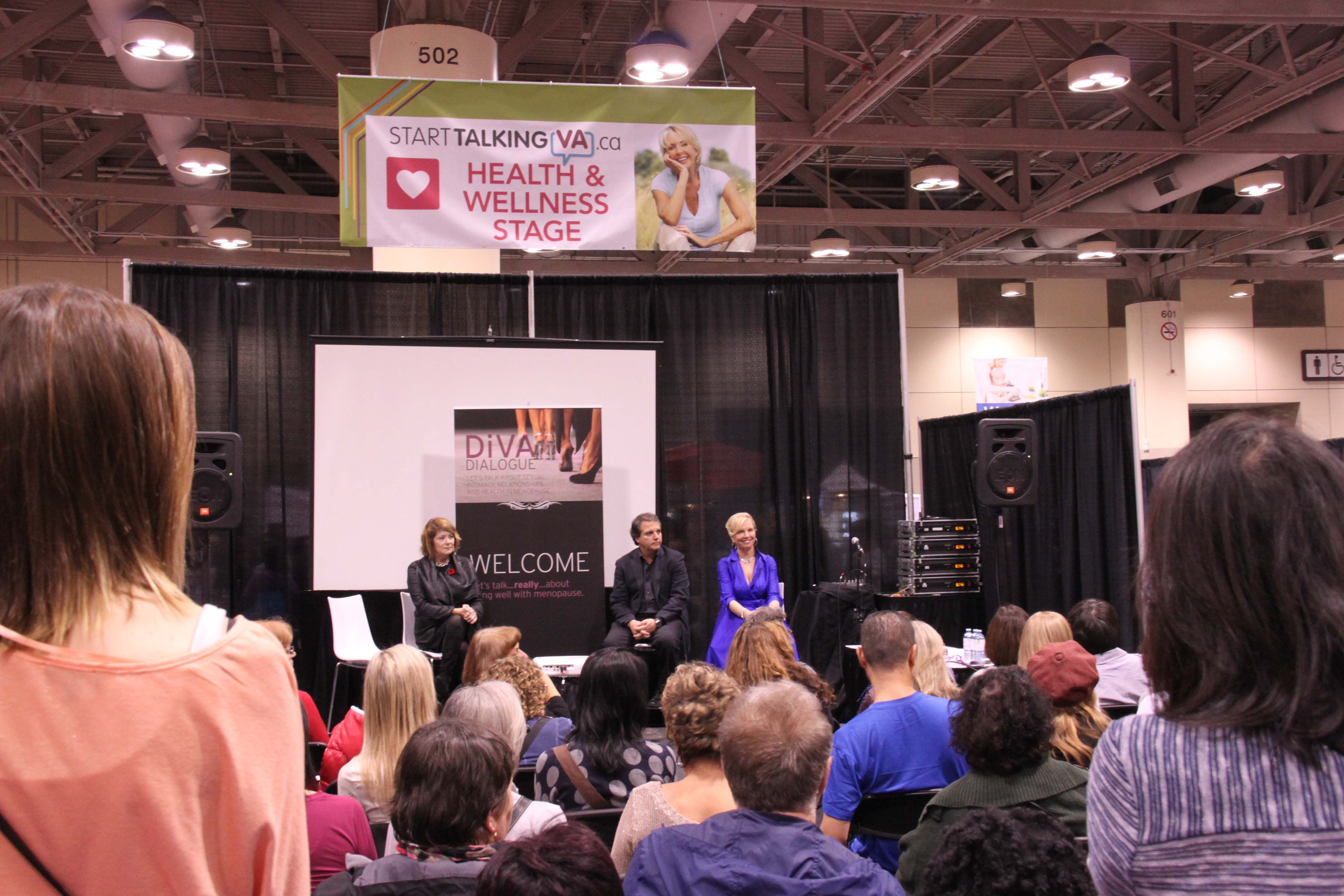 #StartTalkingVA.ca #health and #wellness stage DiVA dialouge panel with experts #nwstoronto
