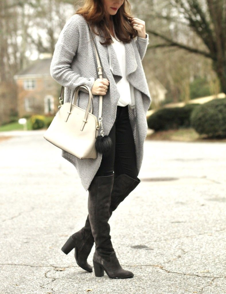 Bring on the Cold | Knee boot, Peach and Ootd