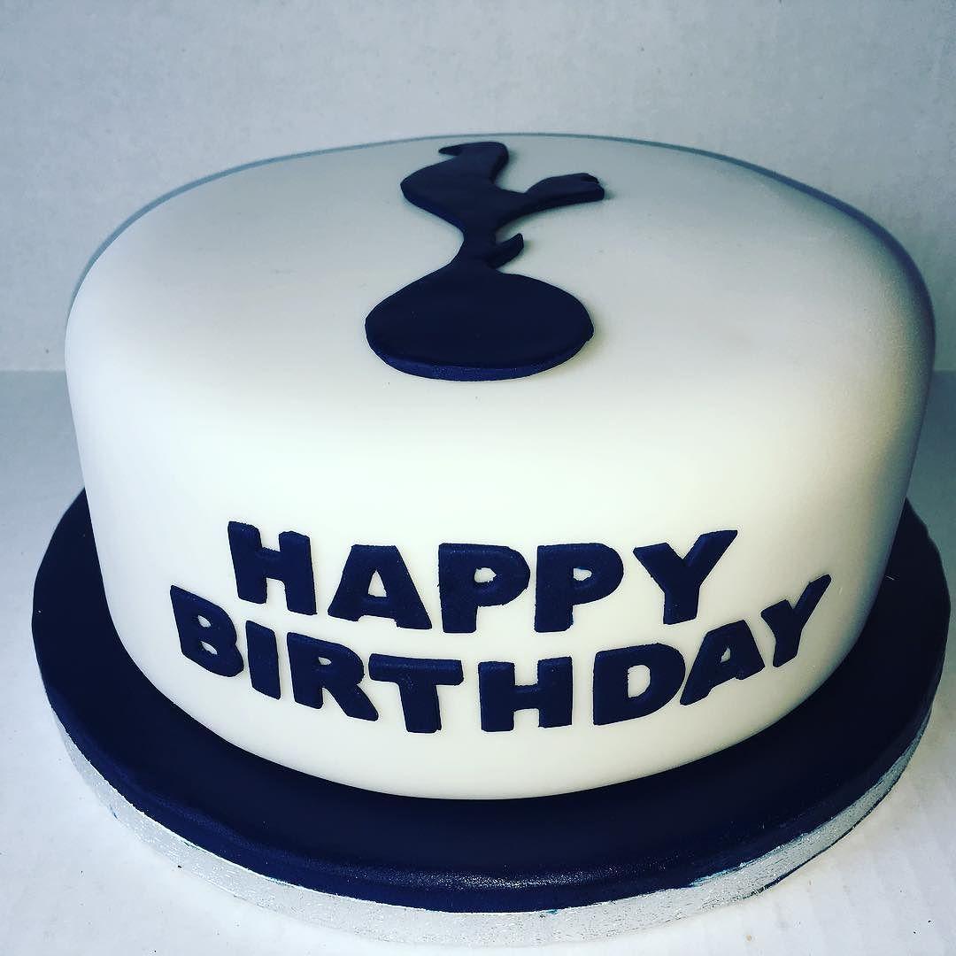 Tottenham Hotspur Logo Birthday Cake Its A Victoria Sponge With
