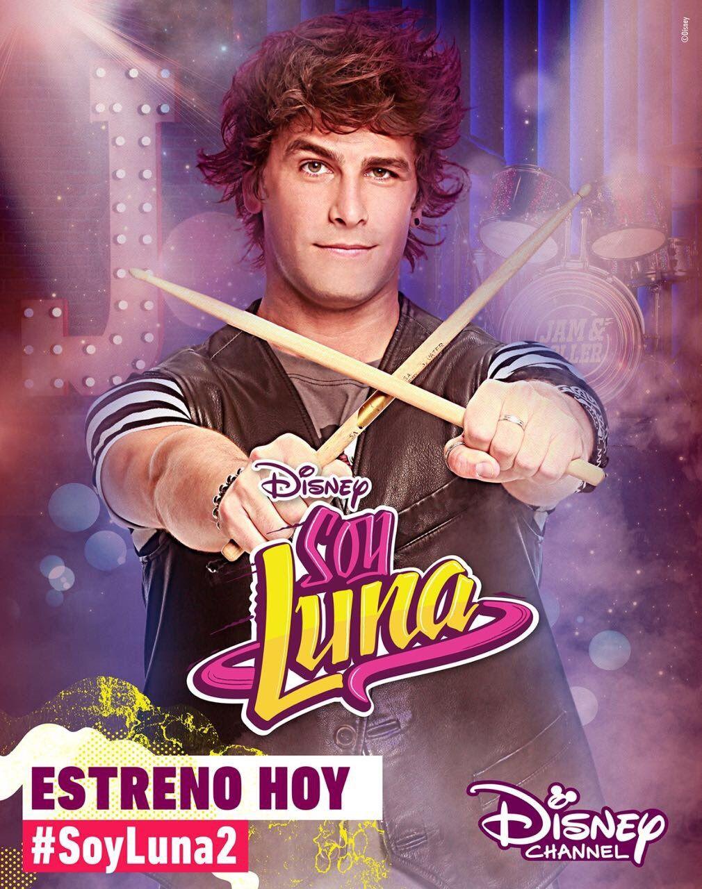Soy Luna 2 Poster Oficial Do Pedro Disney Channel Disney Karakterleri ünlüler