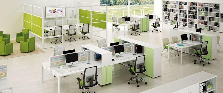 Open Floor Plan Office Furniture: Open Plan Office Design Ideas - Google Search