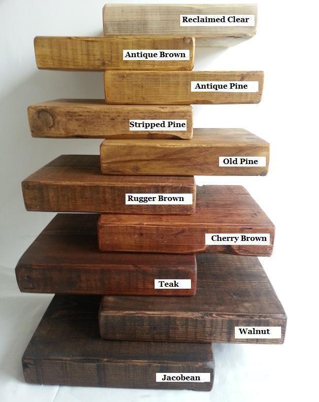 Reclaimed Wood Finishes Shelves Pinterest
