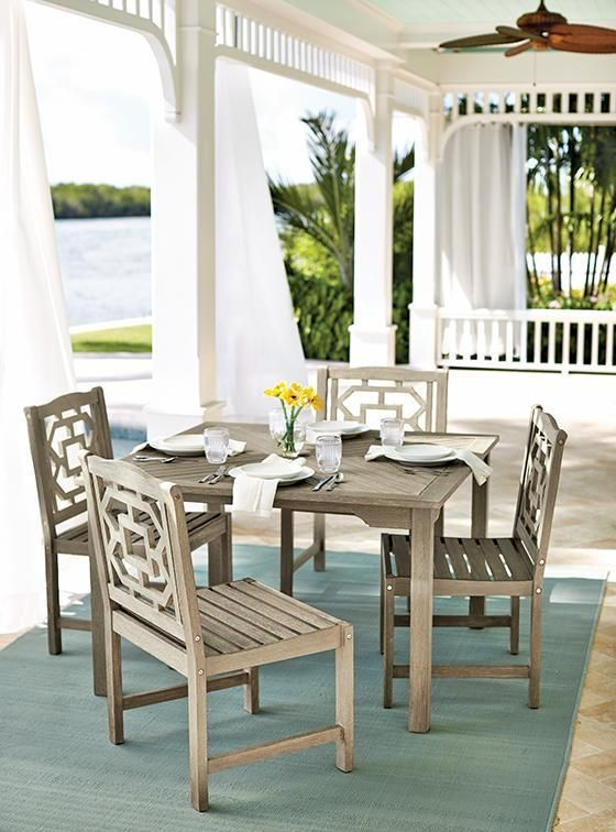 Martha Stewart Living™ Blue Hill 5-Piece Outdoor Dining ... on Martha Stewart 6 Piece Patio Set id=52994