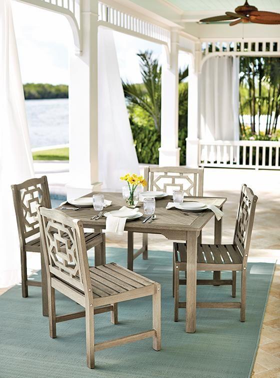 Martha Stewart Living™ Blue Hill 5-Piece Outdoor Dining ... on Martha Stewart 6 Piece Patio Set id=95774