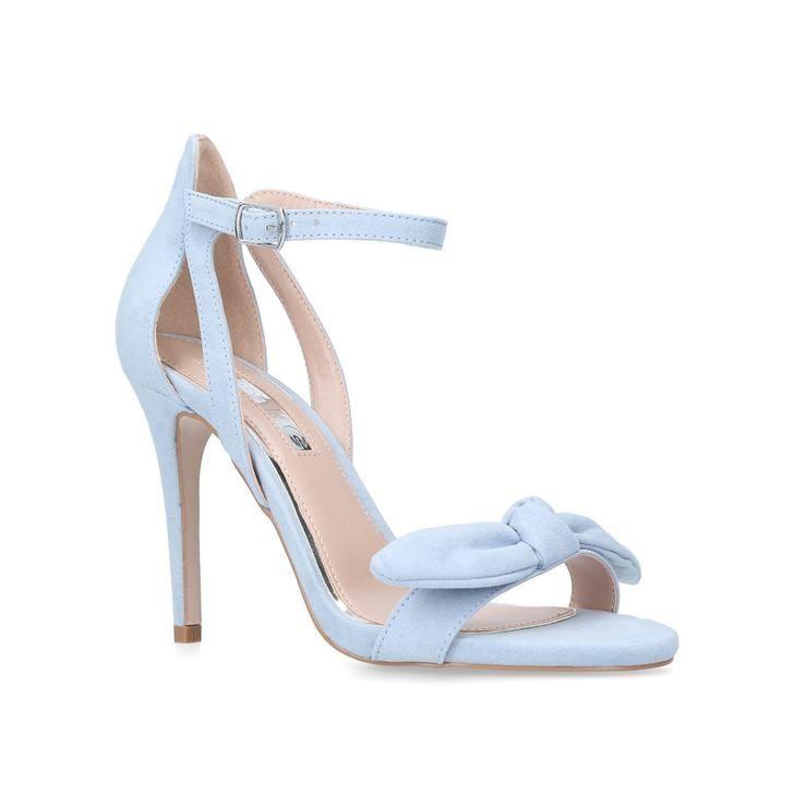 Faun Black High Heel Sandals By Miss KG | Kurt Geiger