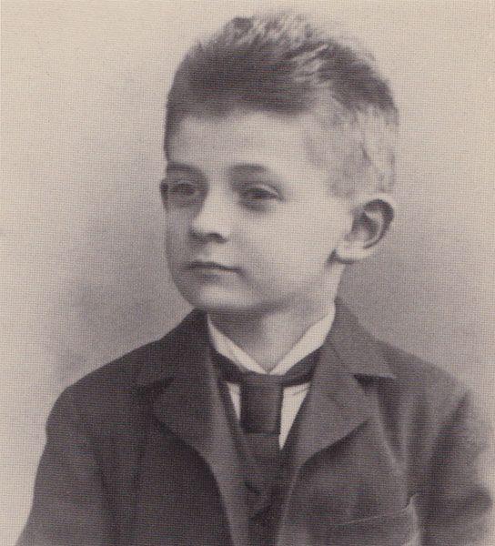 1898, 8 years old - Egon Schiele