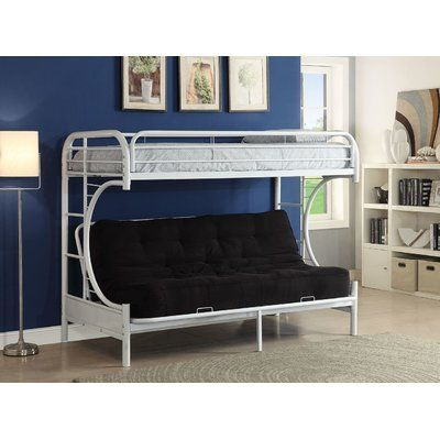Twin Over Full Futon Bunk Bed Frame