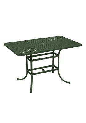 Tropitone La Stratta Aluminum Bar Table In 2020 Coffee Table