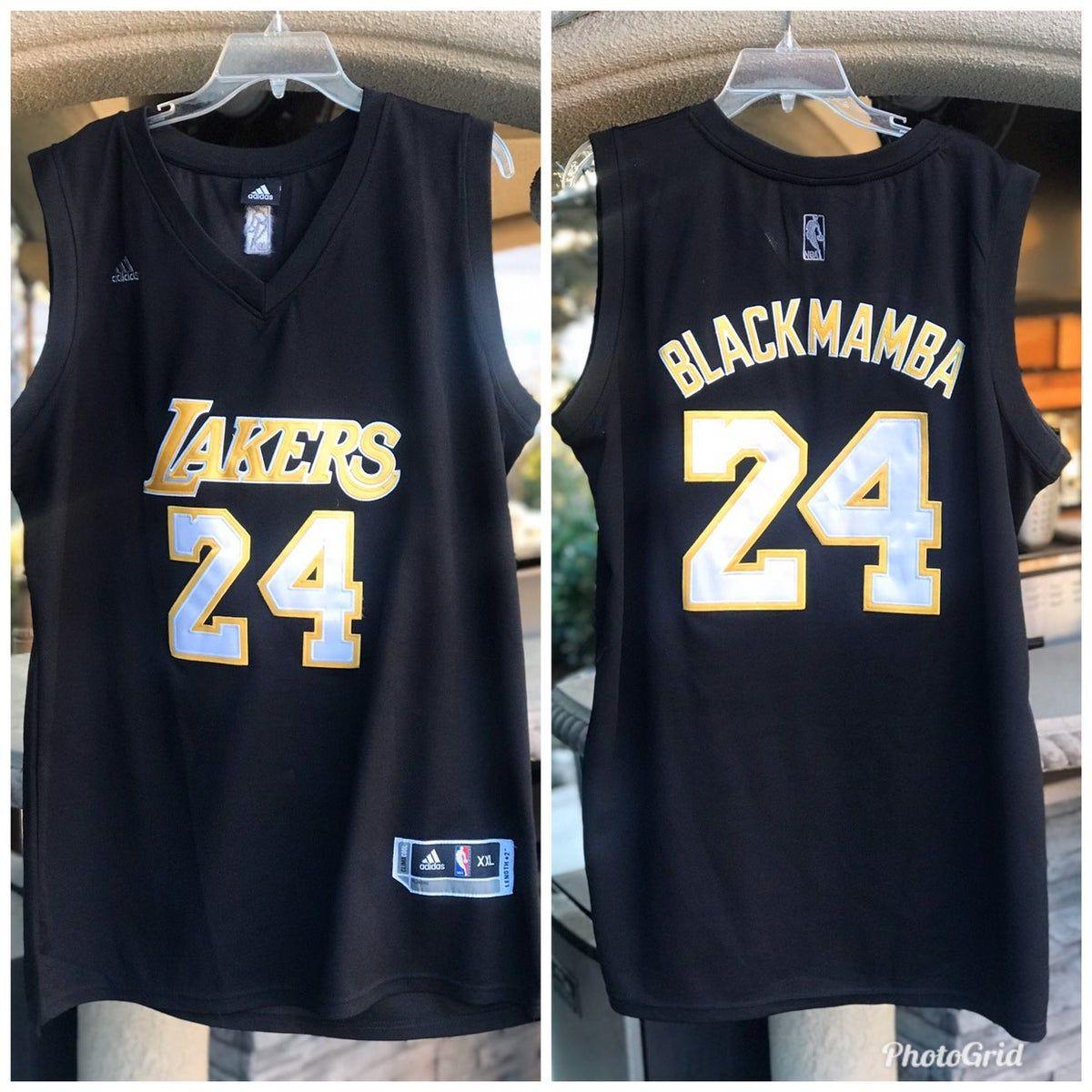Adidas Kobe Bryant Black Mamba Jersey
