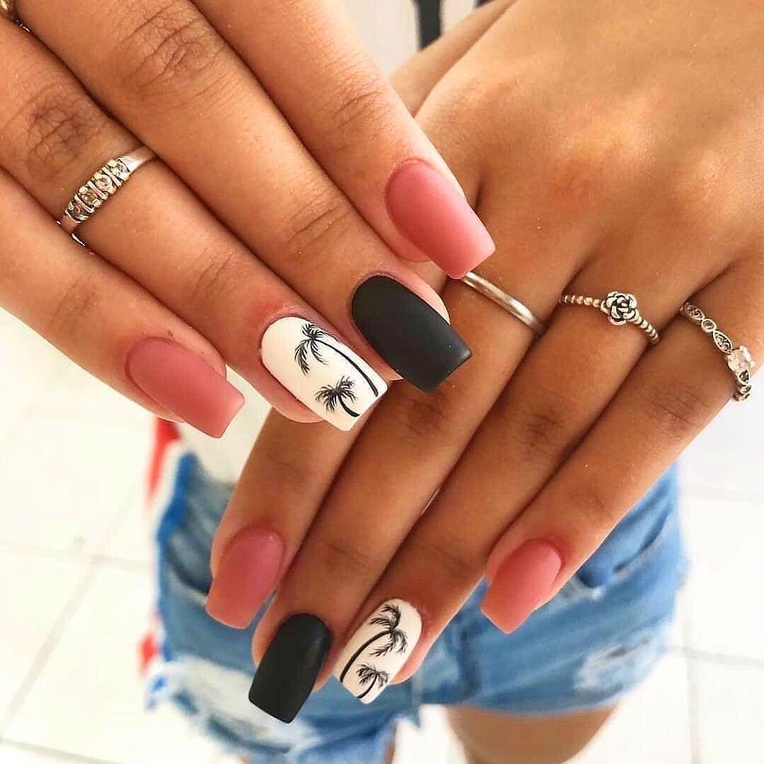 Top 50 Easy Nail Designs For Short Nails Short Acrylic Nails Designs Short Acrylic Nails Nails