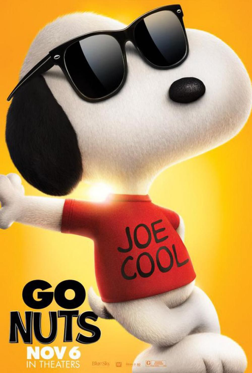 Snoopy And Charlie Brown The Peanuts Movie on Moviebuff.com