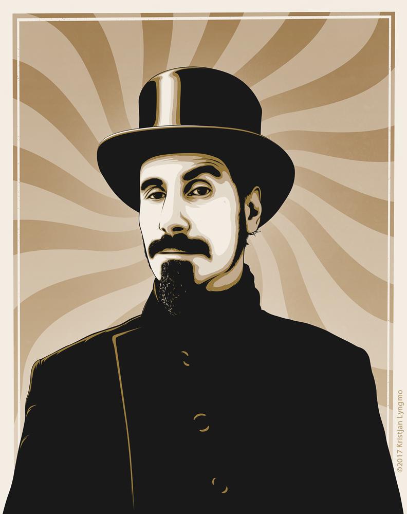Serj Tankian on Behance | System of a down tattoo, System