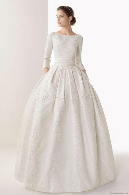 modest wedding dress | dresses | Pinterest | Modest wedding, Wedding ...