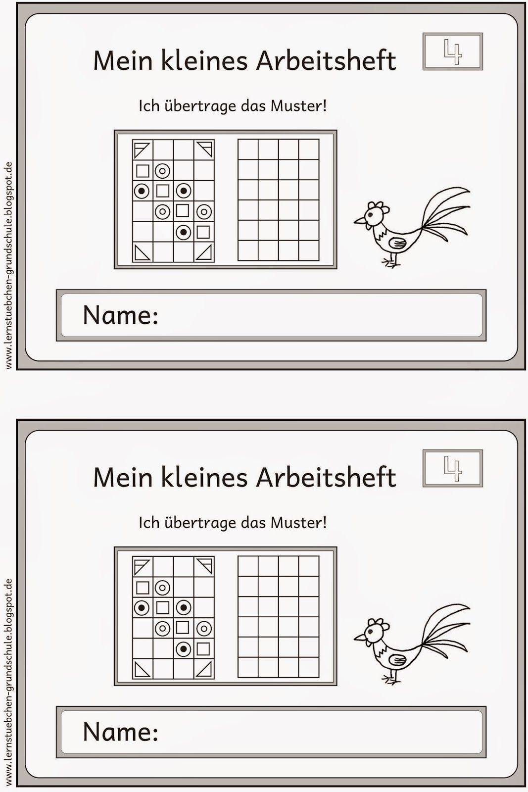 Muster übertragen (4) | Mathematik Volksschule | Pinterest | Muster ...