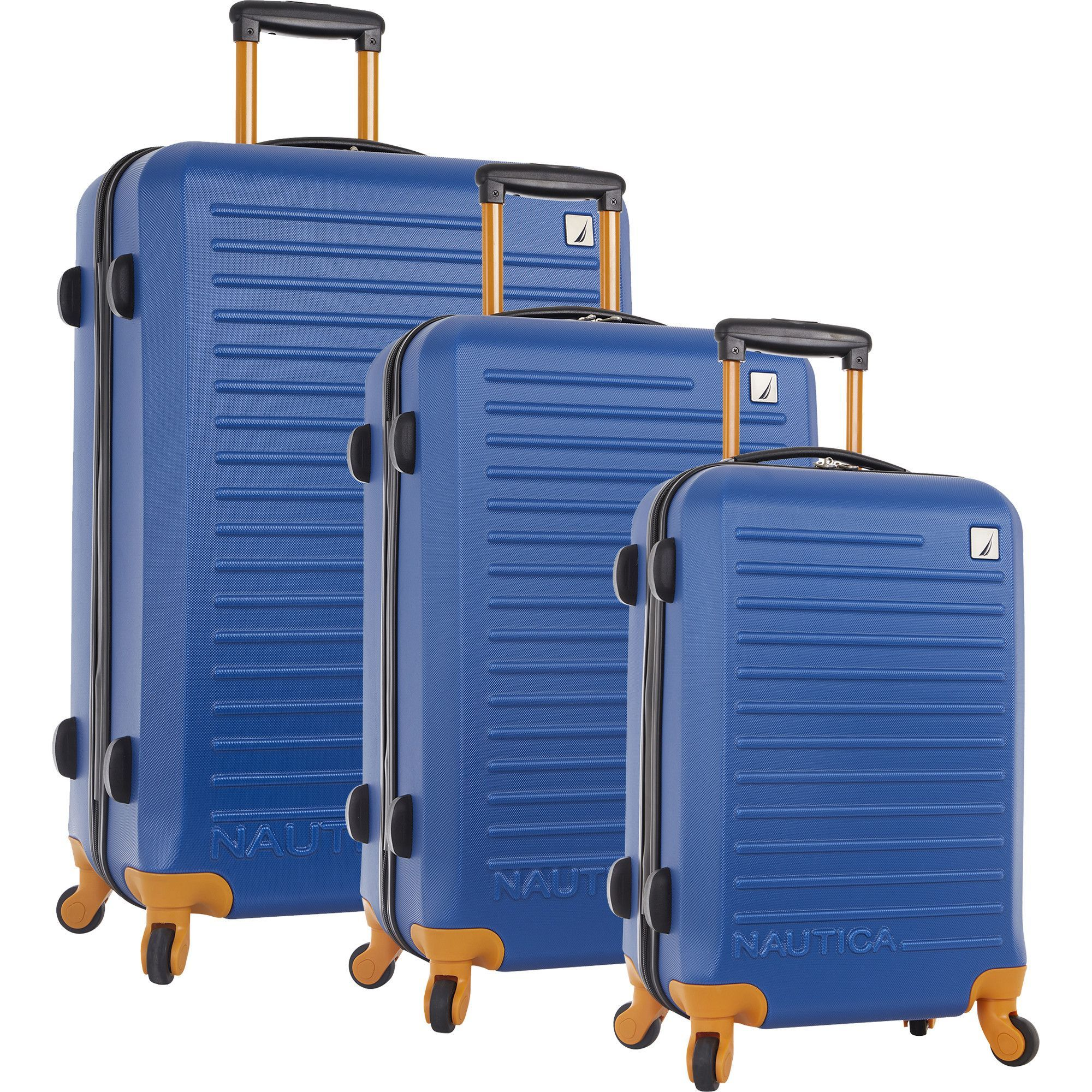 81c1b0b94151 Nautica Tide Beach 3 Piece Hardside Spinner Luggage Set | Products ...