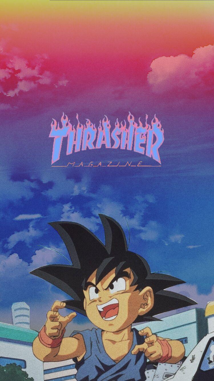 Thraser X Goku Iphone Wallpaper In 2020 Dbz Wallpapers Dragon Ball Artwork Cute Patterns Wallpaper