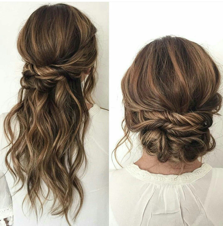ceremony then reception | wedding ❤️ in 2019 | hair, hair