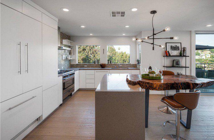 cuisine tendance 2017 id es d 39 am nagement et conseils astucieux bar de cuisine cuisines. Black Bedroom Furniture Sets. Home Design Ideas