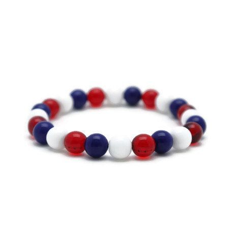 Red White And Blue Bracelets Add Patriotic Spirit To Your Every Day Wardrobe Get Yours