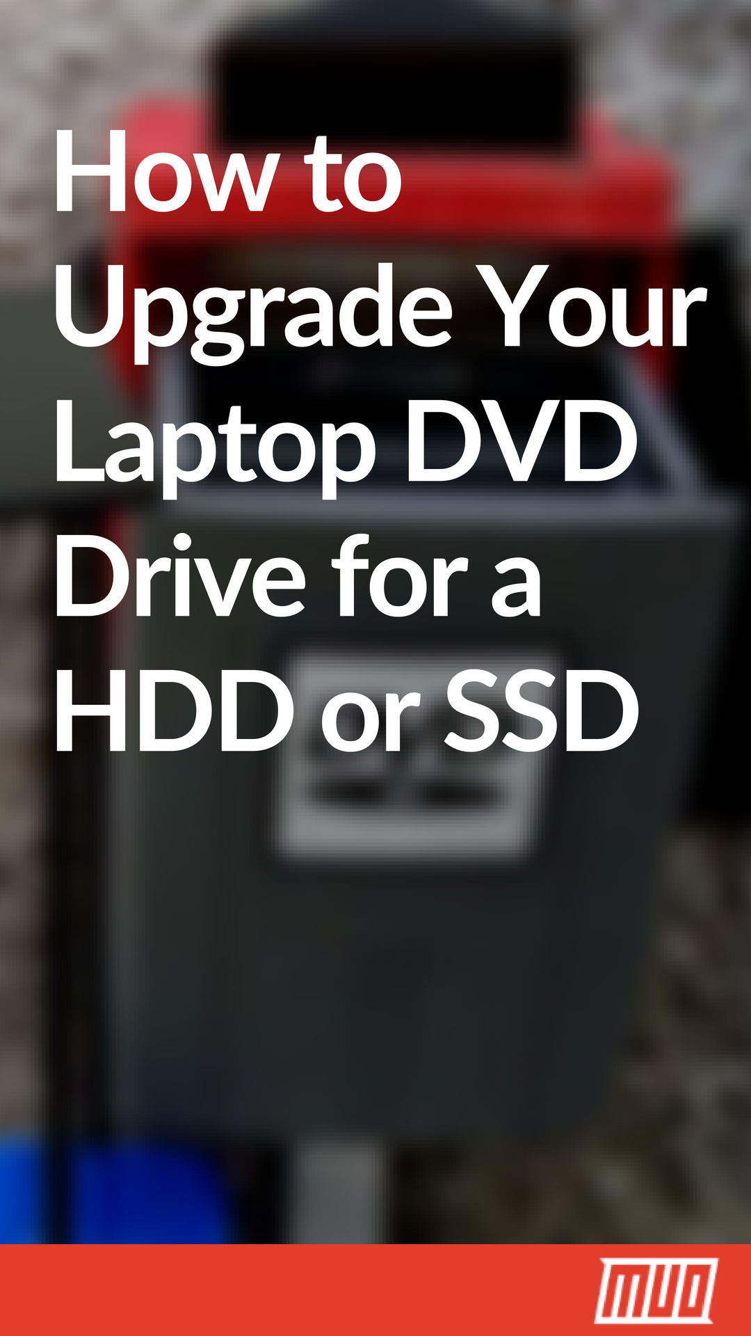 How To Upgrade Your Laptop Dvd Drive For A Hdd Or Ssd Dvd Drive Laptop Repair Life Hacks Computer