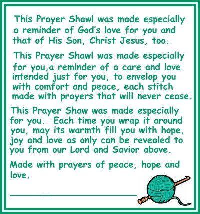 Prayer Shawl Blessing Prayer Shawl Crochet Prayer
