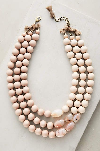 Jeannette Necklace Anthropologie Jewel and Bling